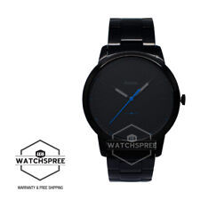 Fossil Men's The Minimalist Slim Three Hand Black Stainless Steel Watch FS5308