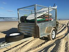 NEW 7x4 OFFROAD CAMPING OFF ROAD GALVANISED BOX TRAILER CAMPER 4X4 HEAVY DUTy