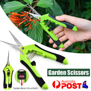 2x Gardening Scissors Pruning Shear Professional Portable  Garden Plant Decateur