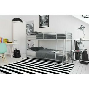 Modern Bunk Bed Twin Over Twin
