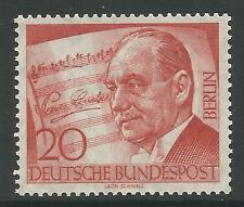 Berlino. 1956. P. lincke (compositore) commemoartive. SG: B152. MINT NEVER Hinged.