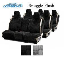 Coverking Custom Seat Covers Snuggle Plush 3 Row Set - 2 Color Options