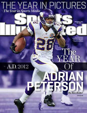 Sports Illustrated  December 24, 2012 | Volume 117, Issue 25 Adrian Peterson