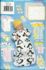 Reduced!  BUTTERICK 5220 BABY BUNTING & ENTIRE WARDROBE L-XL