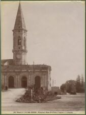 PERUGIA. Fotografia originale fine 1800