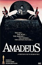 Amadeus (DVD, 1997) F. Murray Abraham, Tom Hulce 1984 Film