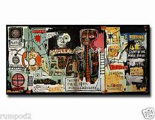 Graffiti Art Print//Poster//weird owl//fish //Urban Art//Street Art//Abstract 17x22in