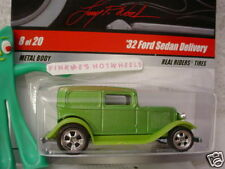 2009 Hot Wheels Larry's Garage '32 FORD SEDAN DELIVERY 1932 ∞green∞real riders