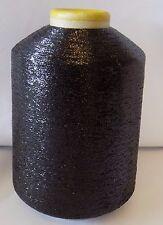 Lurex Thread Yarn 550g Black Knit in with Yarn Knitting Machine - IND25.01