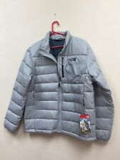 NWT The North Face Men's Aconagua 550 Down Jacket High Rise Grey, Med. List $160