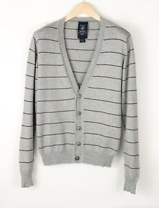 GANT Men Casual Front Button Cardigan Knit Sweater Jumper Top Size S