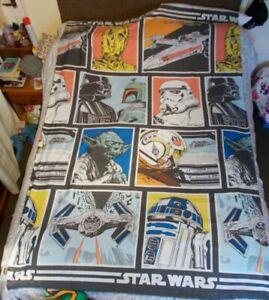 Rare Star Wars Characters Single Reversible Duvet Cover + Pillowcase Set