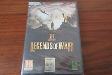 HISTORY  LEGENDS OF WAR        --  NEUF  -----   pour PC
