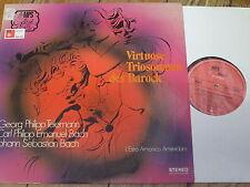MPS 13 003 ST Virtuoso Baroque Trio Sonatas / L'Estro Armonico Amsterdam