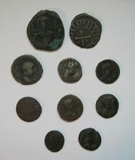 10 Ancient Roman and Byzantine Coins