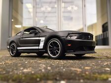 Ford Mustang 2014 GT Black Street Racer 1:24 Scale Diecast Super Model Car M3126