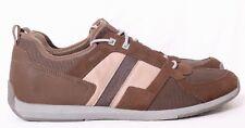 Tsubo Radon Porter Brown/Beige Canvas/Mesh Lace-Up Casual Sneaker Men's US 11