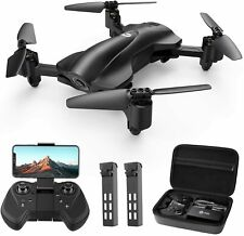 Holy Stone HS165 GPS Drones with Camera 1080P HD Foldable Drone 2 Batteries+Case