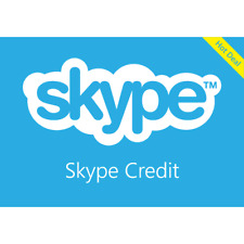 Skype Credit Voucher (up to 500 Minutes) $13 value