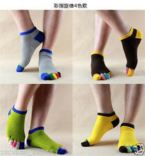 5pairs five finger toe socks men sports socks Random color G16