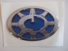 Compass caravan small side oval logo resin badge for dent cover ups CMB2