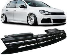BLACK DEBADGED SPORTS BONNET GRILL FOR VW GOLF MK6 6 1K 10/2008 MODEL ONWARDS