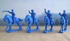 Plastic Toy Soldier American Civil War Union General Staff Mounted 1/32