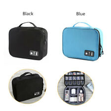 NEW USB Cable Organizer Charger Wires Cosmetic Storage Bag Travel Carrying Case