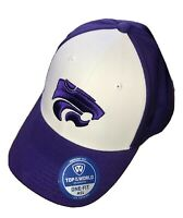 Top of the World NCAA-One-Fit-Memory Fit Hat Cap-Kansas State Wildcats KSU