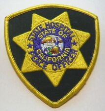 CALIFORNIA STATE HOSPITAL PEACE OFFICER PATCH UNUSED