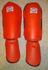 Shin Pads SIZE LARGE Sports Combat International  MMA kickboxing martial arts