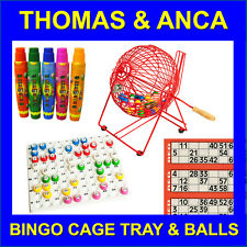 Bingo Cage Machine Tray & Balls Free 15ml Bingo Dabbers or Bingo Tickets