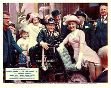 The Cracksman  original 8x10 lobby card Nyree Dawn Porter marries Charlie Drake