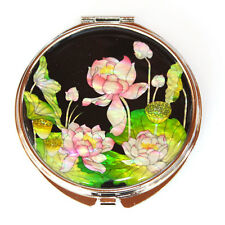 Mother of Pearl  Design Compact Cosmetic Makeup Hand Mirror