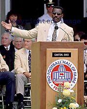 Walter Payton 1975-87  Chicago Bears HOF'er Color 8x10 G