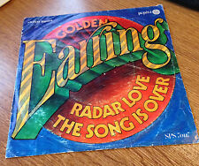 GOLDEN EARING - RADAR LOVE - THE SONG IS OVER - 45  PEPITA HUNGARY 1970s  RARE