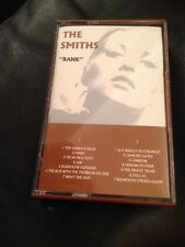 THE SMITHS RANK CASSETTE ROUGH TRADE C126 MORRISSEY BROWN CASSETTE Unplayed !