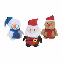 Holiday Stuffed Characters - Toys - 12 Pieces