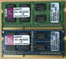 4GB (2 x 2GB) Kingston KTA-MB1333/2G iMac Memory
