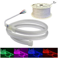Neon LED Strip Light 5050 RGB Rope Wire Waterproof Flexible DIY Lights DC12V