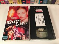 * White Lies TV Movie Drama VHS 1998 Sarah Polley Lynn Redgrave Tanya Allen