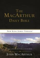 NKJV, The MacArthur Daily Bible, Paperback: Read Through the Bible in One Year,