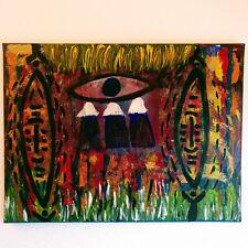 T. WICHERT Abstrakte Kunst Acryl Bild AFRIKA  Original zeitgenössisch 80x60 cm