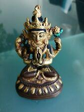 Vintage bronze/copper buddha