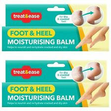 Treat and Ease Foot and Heel Moisturising Balm X2 Packs