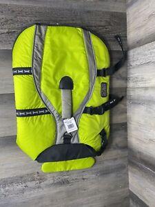 New Outward Hound Designer II Pet-saver Lifejacket Large Green NWT OH00903
