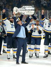 Craig Berube St.Louis Blues 2019 STANLEY CUP UNSIGNED 8x10 Photo