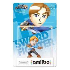 NINTENDO AMIIBO MII SWORD FIGHTER SERIE SUPER SMASH BROS 3DS / WIIU NUOVO