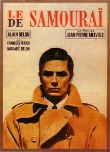Le Samourai 1954 Retro Movie Poster A0-A1-A2-A3-A4-A5-A6-MAXI 683