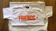 NWT VLONE FRIENDS Logo Black T-Shirt (ALL SIZE) ASAP Bari / Rocky Tee A$AP MOB